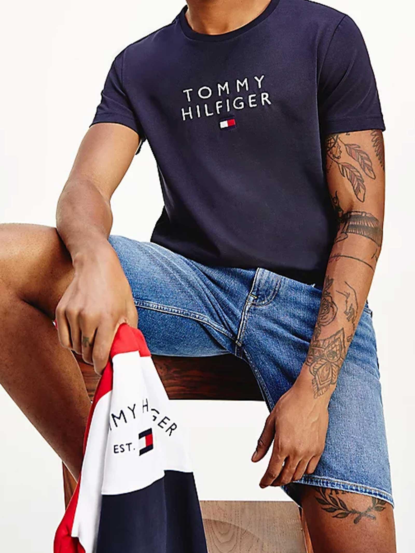 T-SHIRT UOMO TOMMY HILFIGER   T-shirt   MW0MW17663DW5