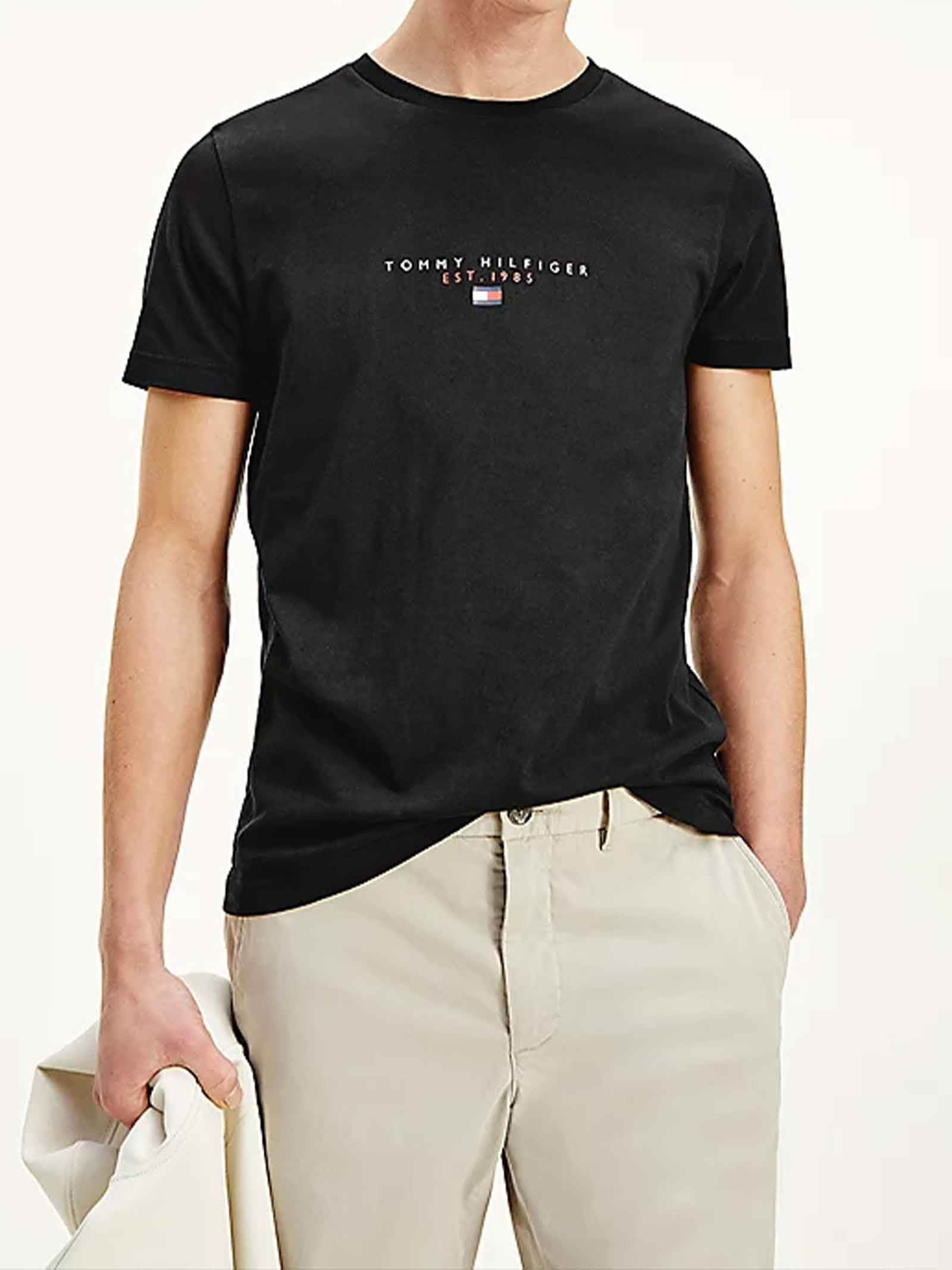 T-SHIRT UOMO TOMMY HILFIGER   T-shirt   MW0MW17676BDS