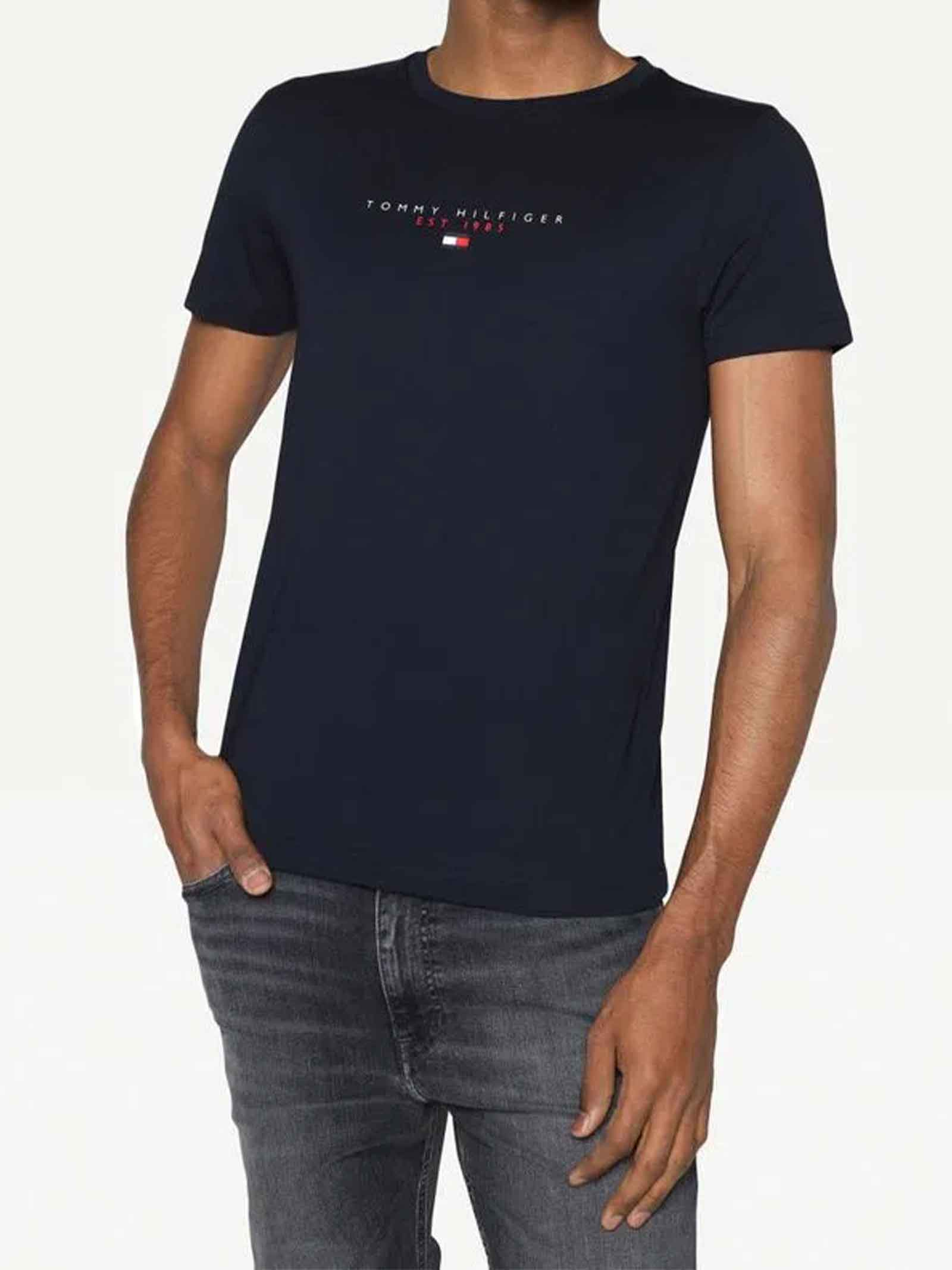 T-SHIRT UOMO TOMMY HILFIGER   T-shirt   MW0MW17676DW5