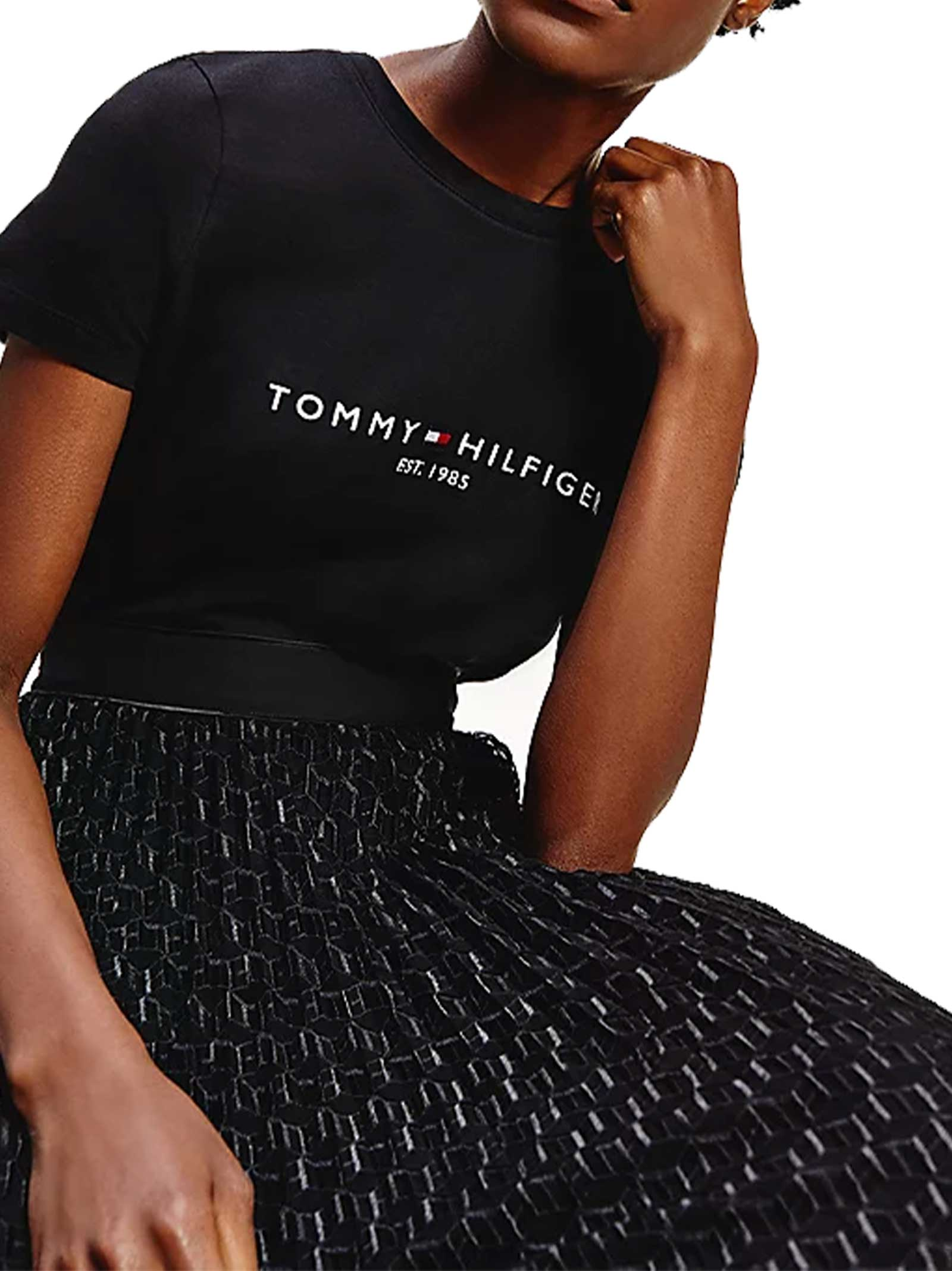 T-SHIRT DONNA TOMMY HILFIGER | T-shirt | WW0WW28681BDS