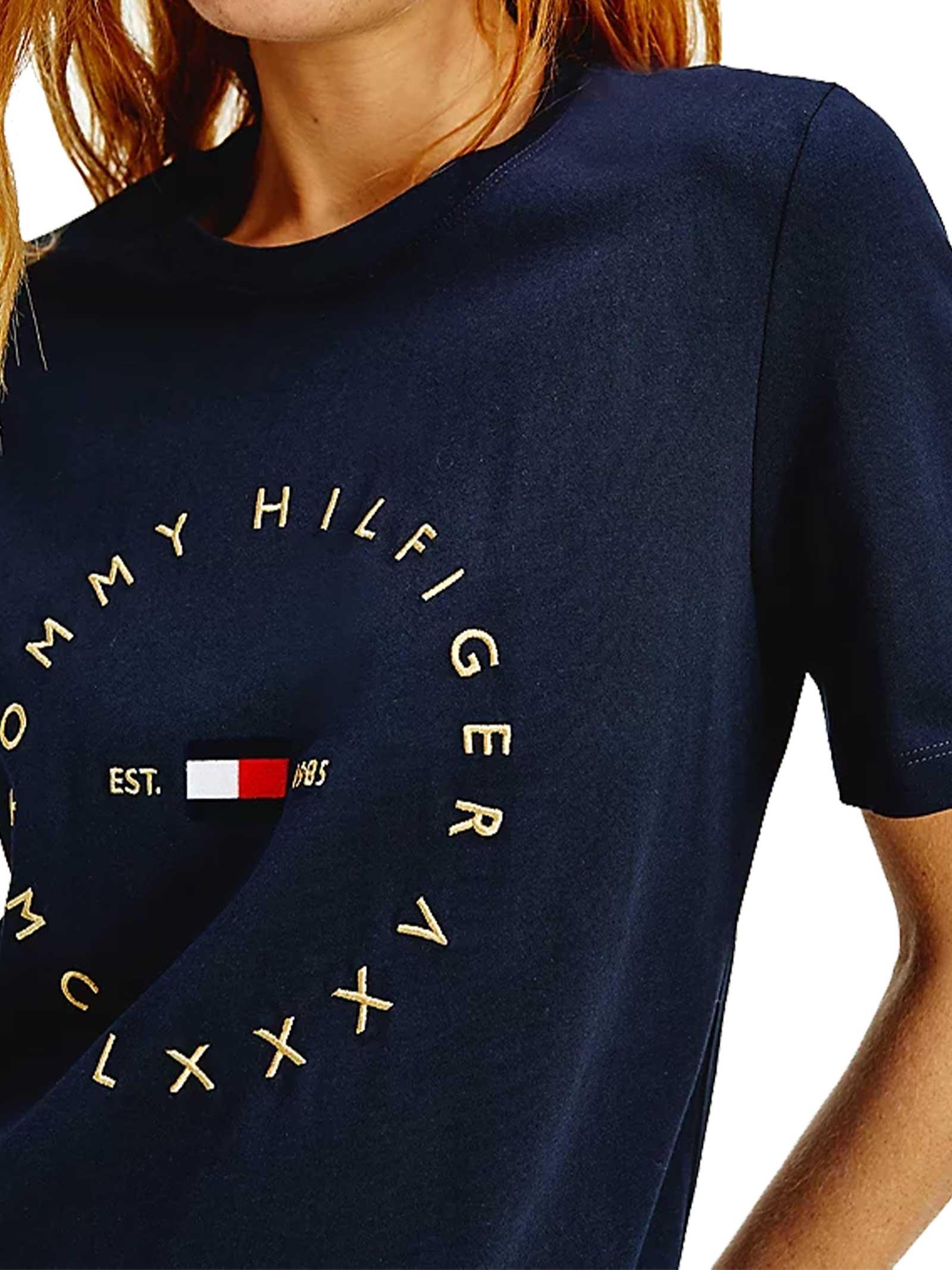 T-SHIRT DONNA TOMMY HILFIGER | T-shirt | WW0WW30103DW5