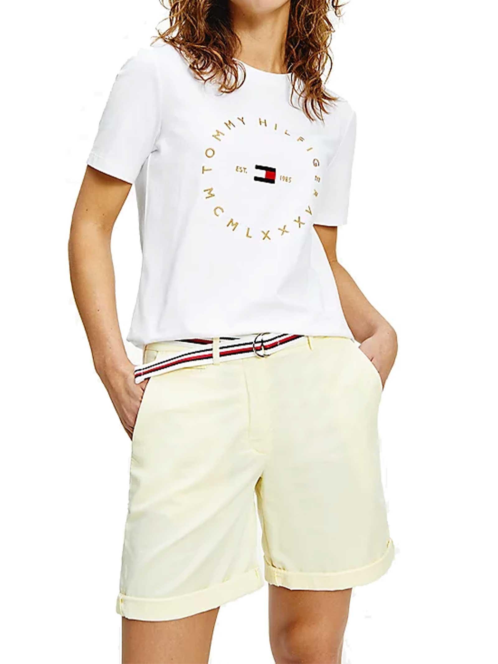 T-SHIRT DONNA TOMMY HILFIGER | T-shirt | WW0WW30103YBR