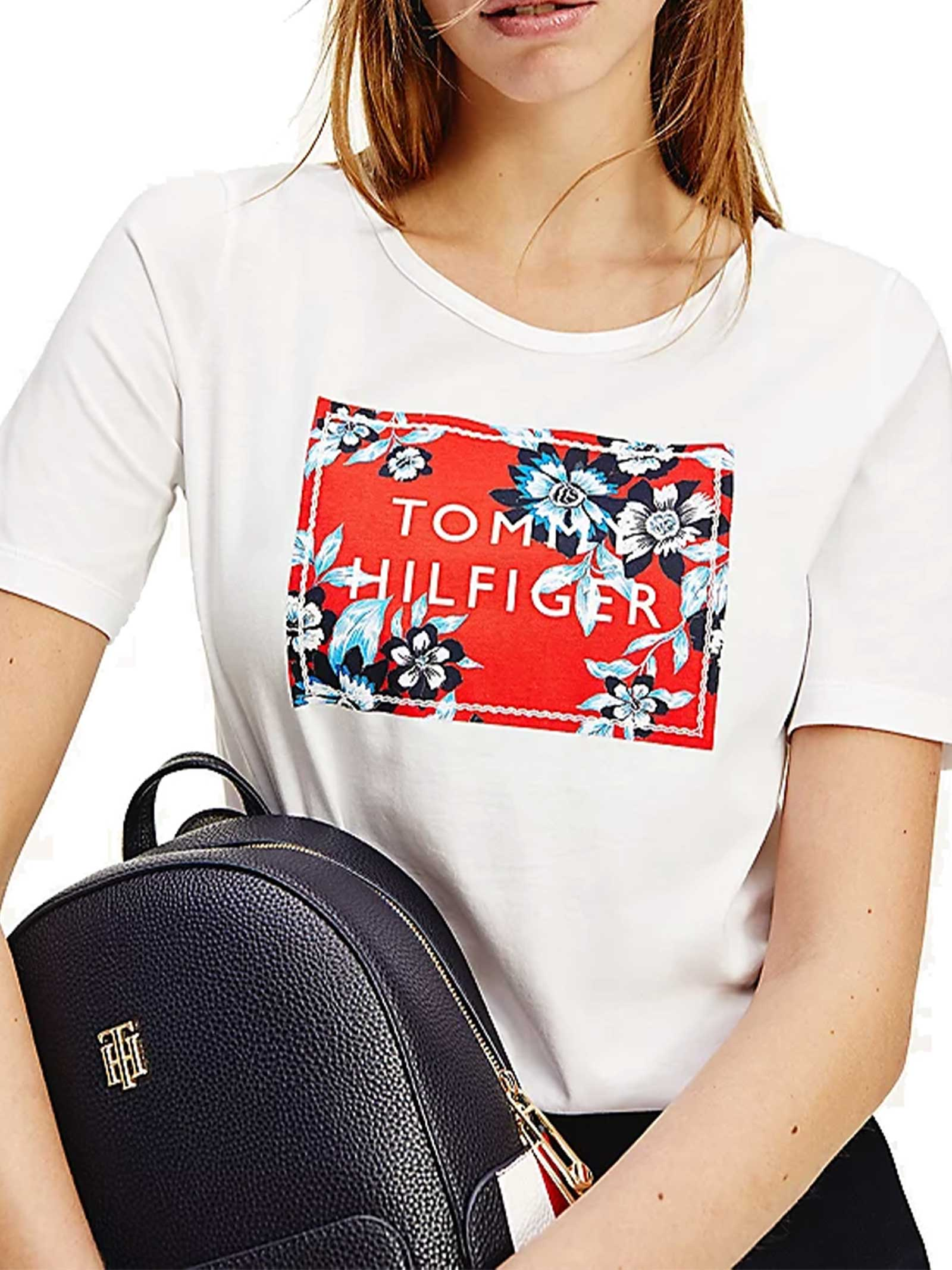 T-SHIRT DONNA TOMMY HILFIGER | T-shirt | WW0WW30654YBR