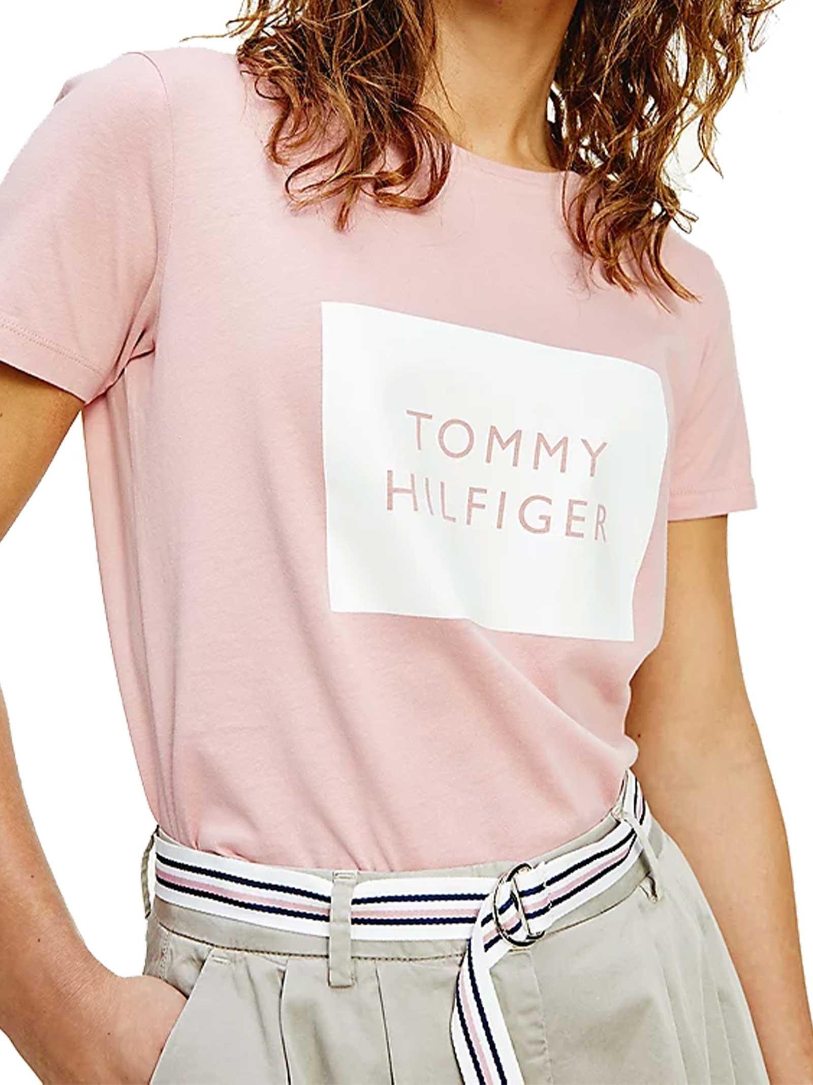 T-SHIRT DONNA TOMMY HILFIGER | T-shirt | WW0WW30658TQS