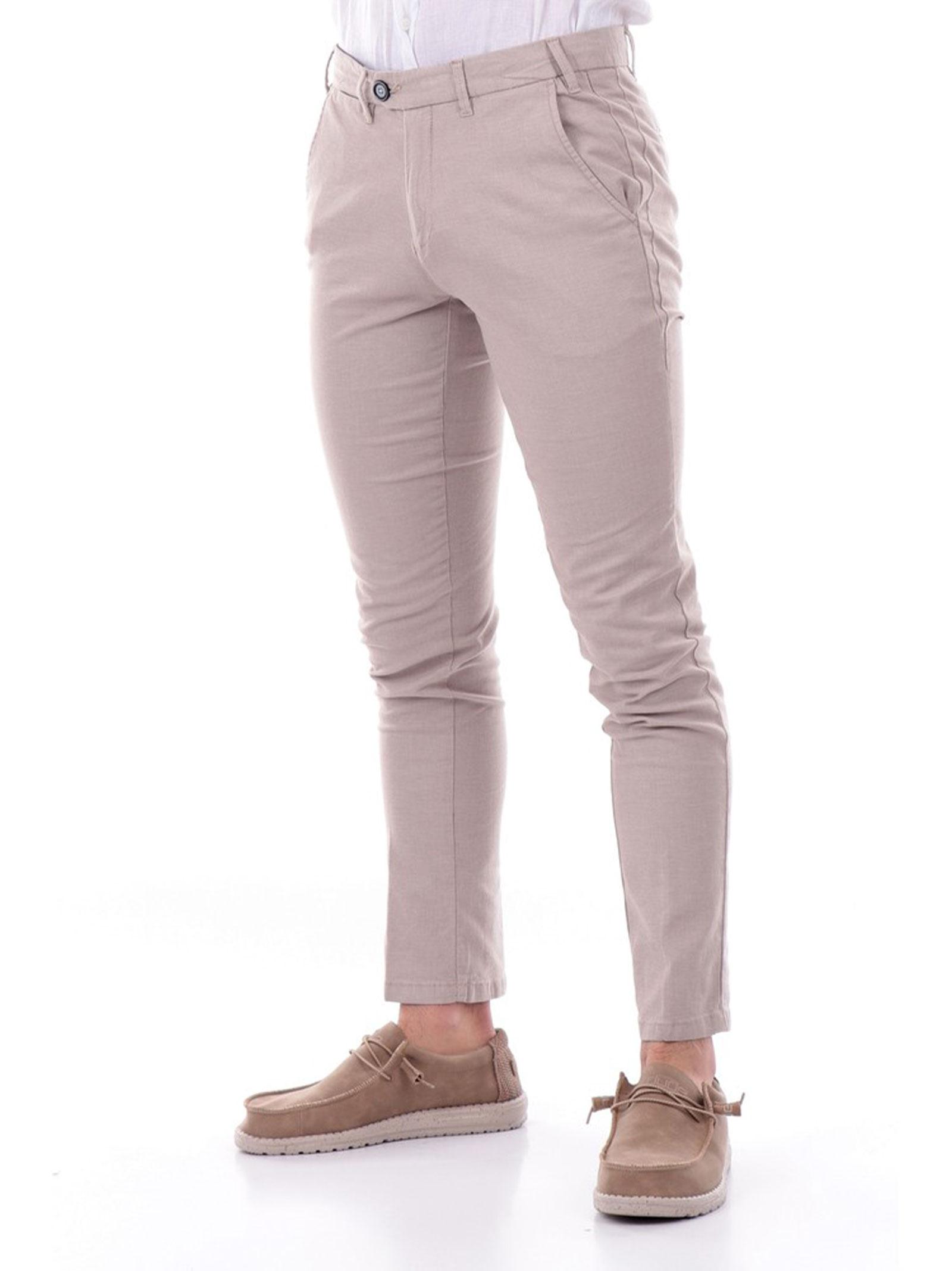 PANTALONI UOMO YES ZEE   Pantalone   P640-FT000222