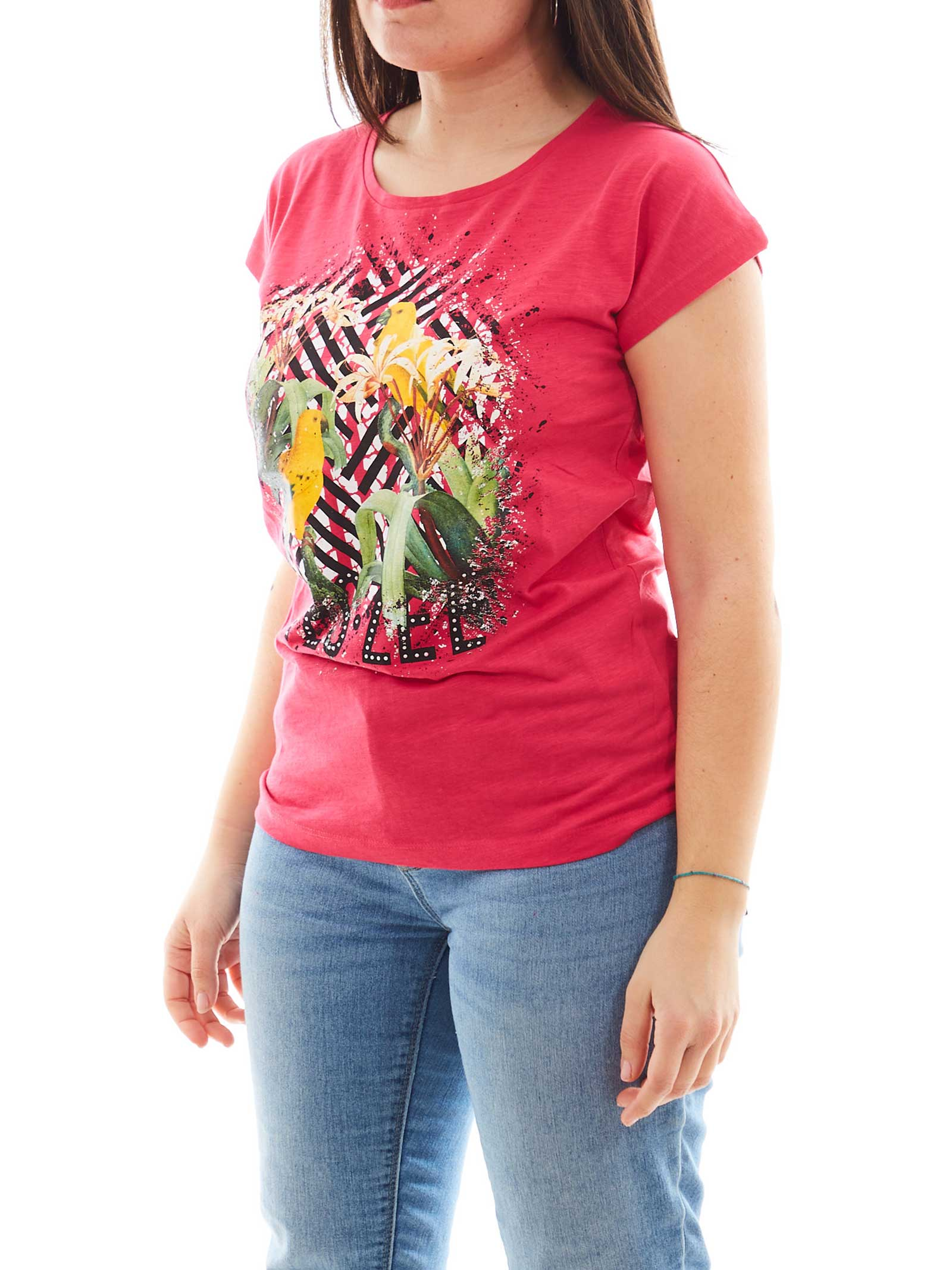T-SHIRT DONNA YES ZEE   T-shirt   T212-TL020424