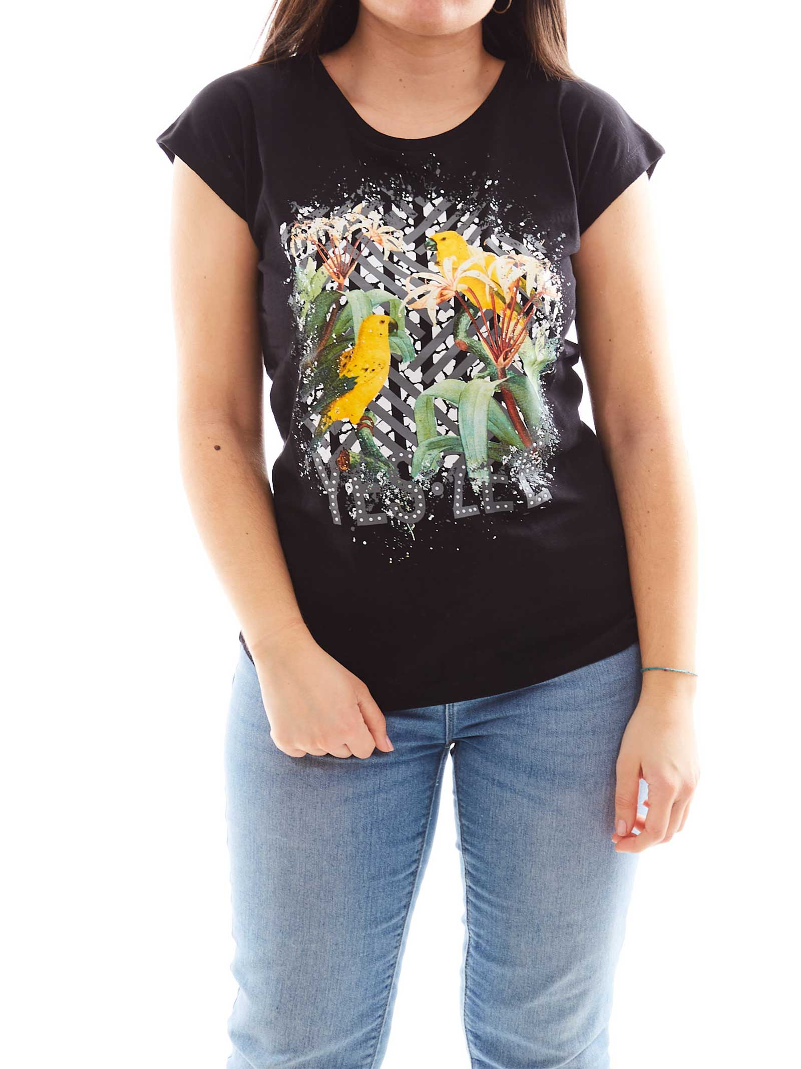 T-SHIRT DONNA YES ZEE   T-shirt   T212-TL020801