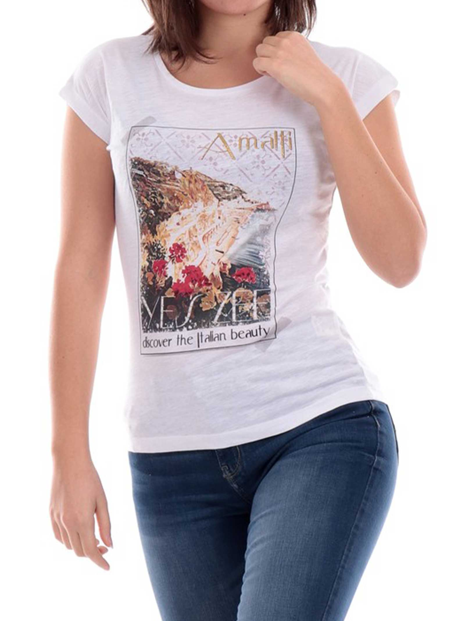 T-SHIRT DONNA YES ZEE   T-shirt   T212-TL060107