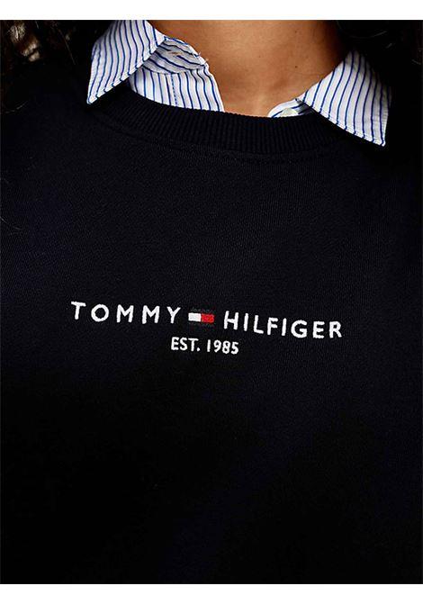FELPA DONNA TOMMY HILFIGER | Felpa | WW0WW28220DW5