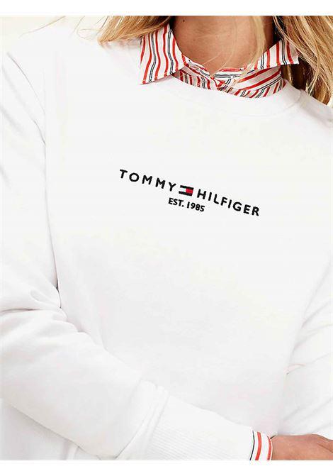 FELPA DONNA TOMMY HILFIGER | Felpa | WW0WW28220YBR