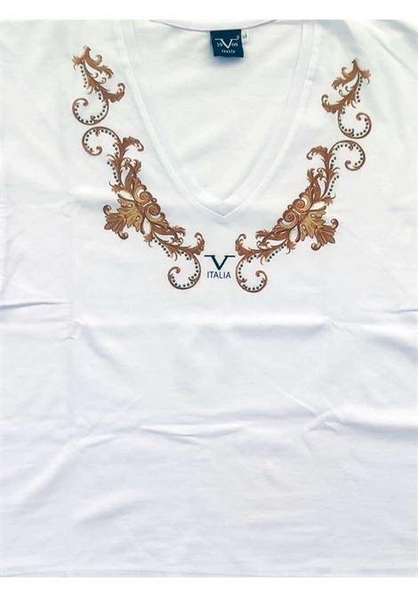 T-SHIRT DONNA 19V69 | T-shirt | VI21SSDPM0013BIANCO