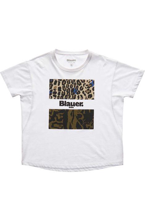 T- SHIRT BLAUER BLAUER | T-shirt | 21SBLDH02137-004547100