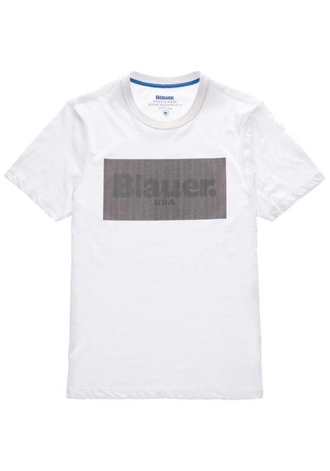 T- SHIRT BLAUER BLAUER | T-shirt | 21SBLUH02133-004547100