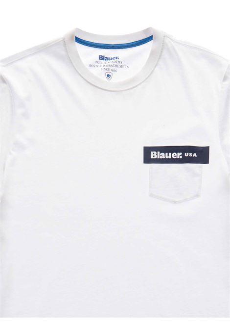 T- SHIRT BLAUER BLAUER | T-shirt | 21SBLUH02136-004547100