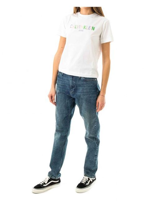 T-SHIRT DONNA CALVIN KLEIN | T-shirt | J20J215487YAF