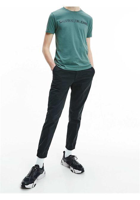 T-SHIRT UOMO CALVIN KLEIN   T-shirt   J30J307856LDT