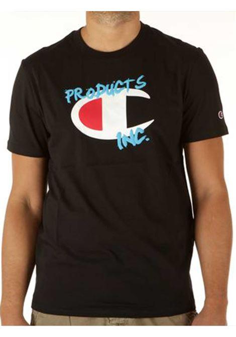 T-SHIRT UOMO CHAMPION | T-shirt | 214344NBK