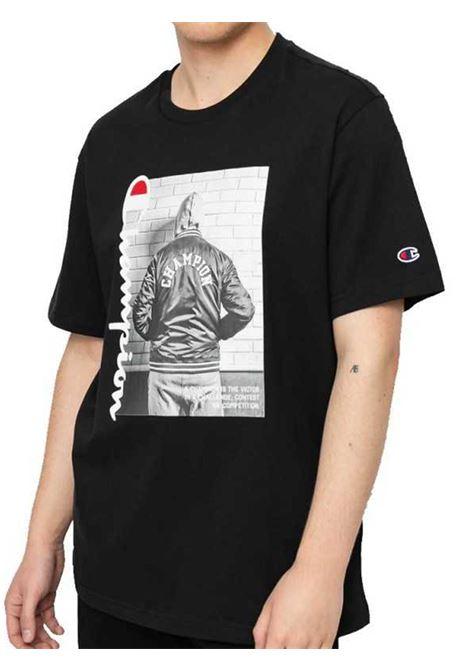 T-SHIRT UOMO CHAMPION | T-shirt | 216032NBK