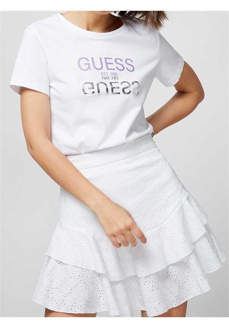 T-SHIRT DONNA GUESS | T-shirt | W1GI0C-I3Z11TWHT