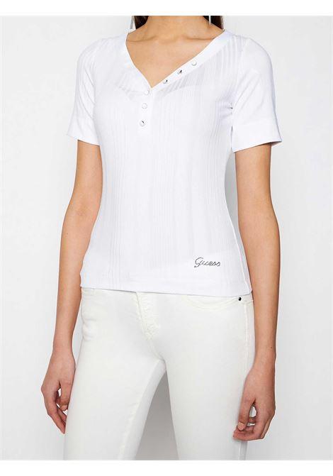 T-SHIRT DONNA GUESS | T-shirt | W1GP83-KAF42TWHT