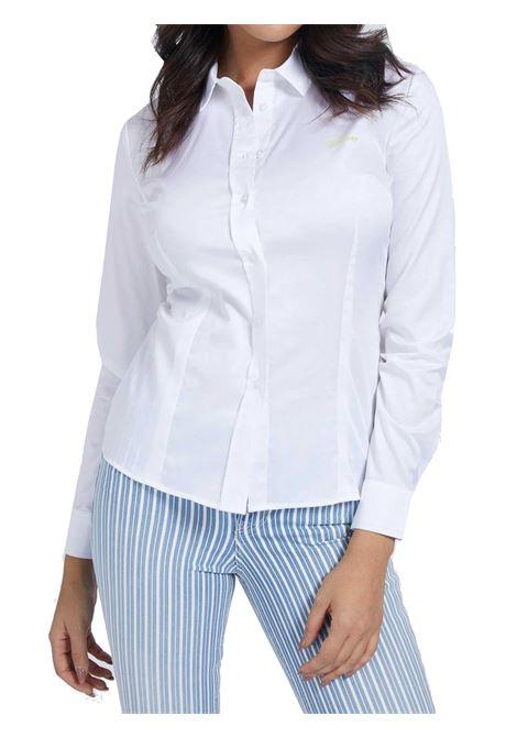 CAMICIA DONNA GUESS | Camicia | W1RH41-WAF10TWHT
