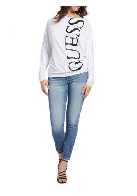 MAGLIA DONNA GUESS | T-shirt | W1RI0A-K68D0TWHT