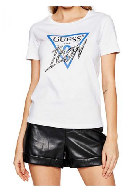 T-SHIRT DONNA GUESS | T-shirt | W1RI25-I3Z00TWHT