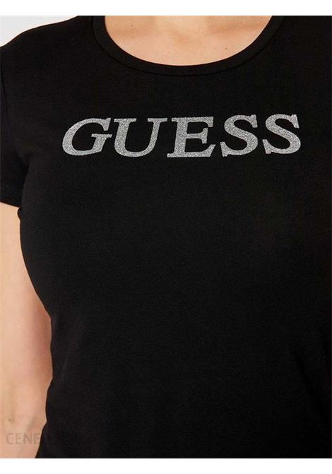 T-SHIRT DONNA GUESS | T-shirt | W1RI9G-J1300JBLK