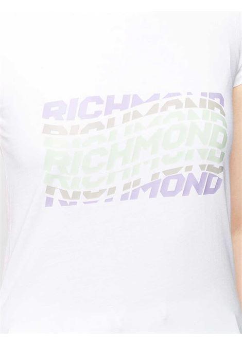 T-SHIRT DONNA JOHN RICHMOND | T-shirt | UWP21013TSWHITE