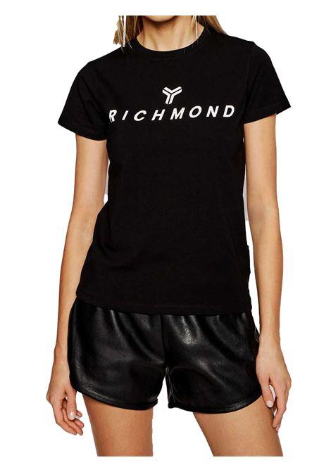 T-SHIRT DONNA JOHN RICHMOND | T-shirt | UWP21018TSBLACK
