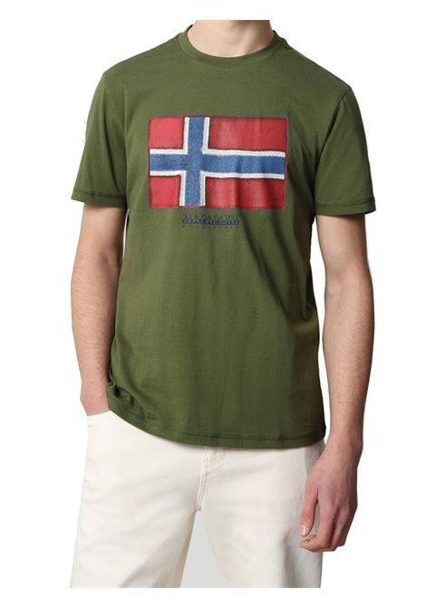 T-SHIRT UOMO NAPAPIJRI | T-shirt | NP0A4F9RG2C