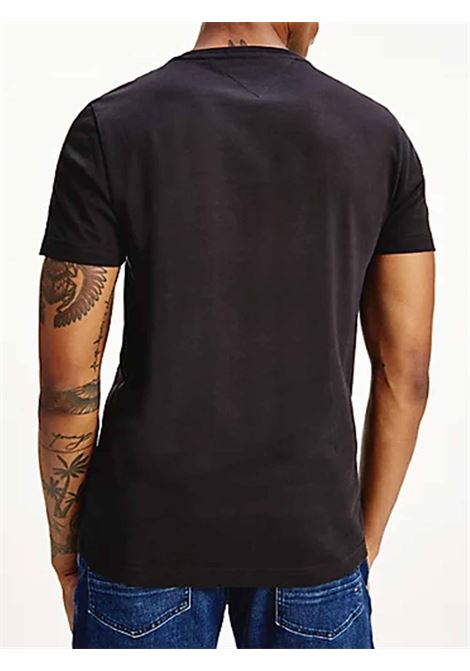 T-SHIRT UOMO TOMMY HILFIGER   T-shirt   MW0MW16572BDS