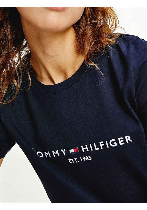 T-SHIRT DONNA TOMMY HILFIGER | T-shirt | WW0WW28681DW5