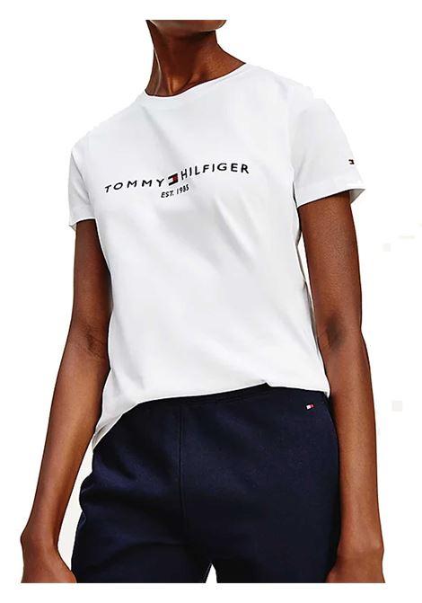 T-SHIRT DONNA TOMMY HILFIGER | T-shirt | WW0WW28681YBR