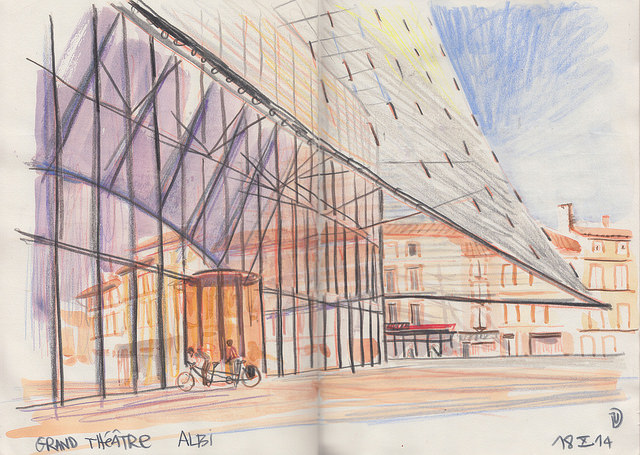 sketching in architecture