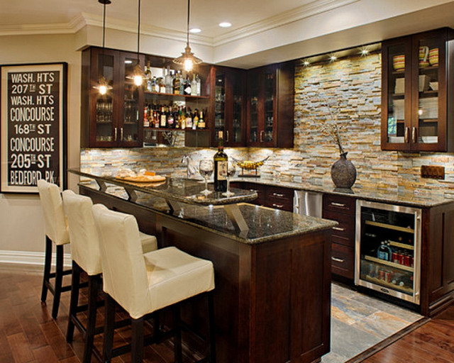 10 Inspirational Home Bar Design Ideas For A Stylish Home | Plan n ...