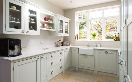american traditional kitchen