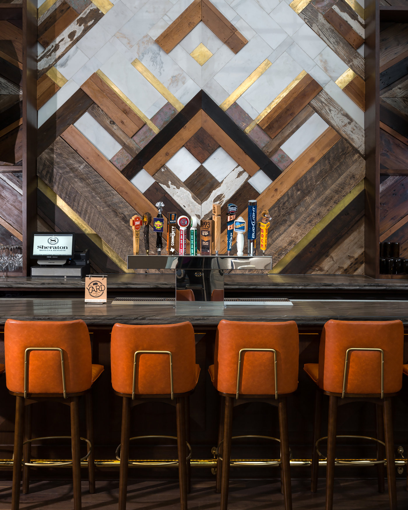 "Restaurant Bar Interior Design: A Significant Role Of ""BRASS"" In Futuristic Interiors"