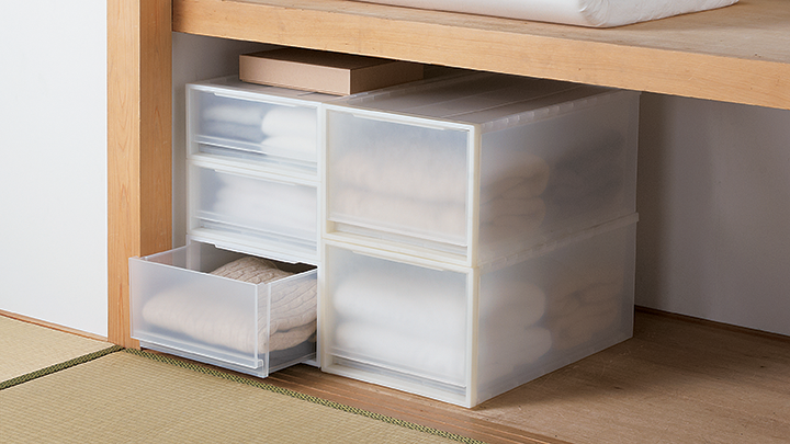 cases with drawers