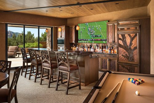 american southwest home bar