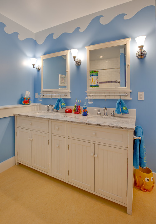kid bathroom themes