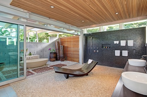 outdoor bathroom plans