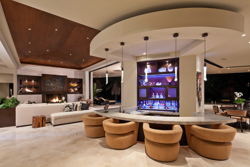 Genial Bar Design. By Blackbird Interiors   More Contemporary Living Room