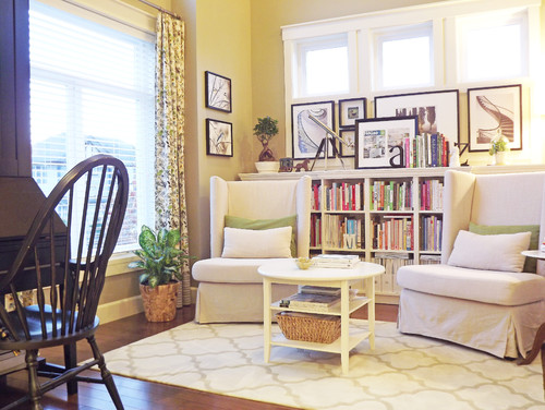 shabby chic style living room