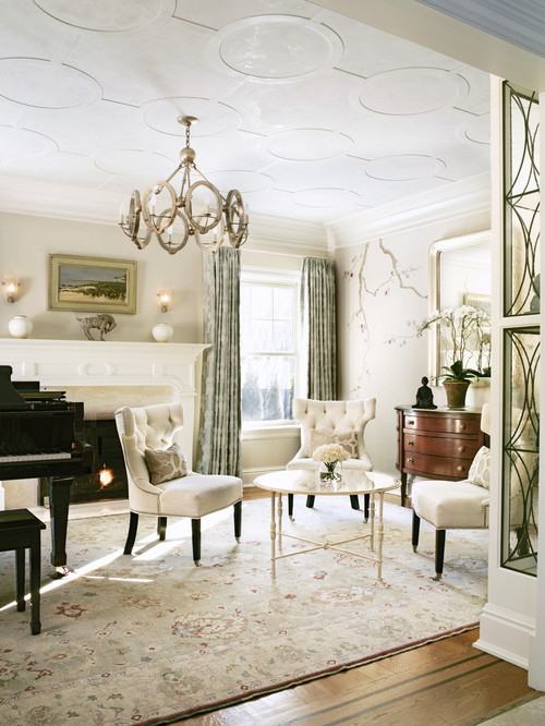american traditional living room