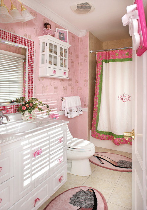 bathroom fabric