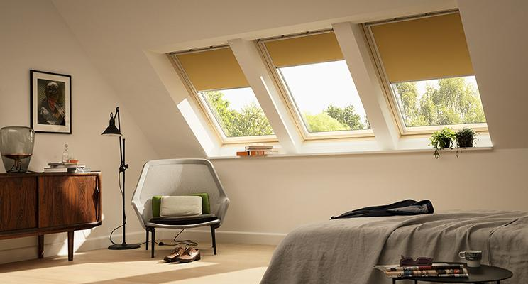 Multipurpose velux blinds