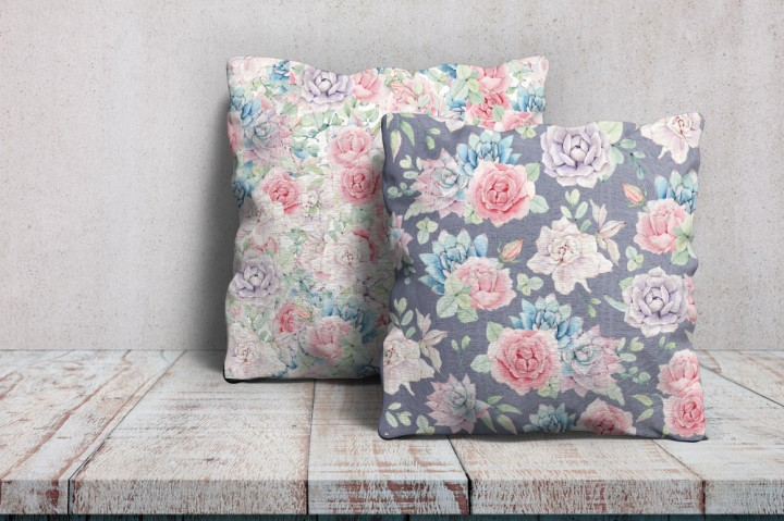 Wedding cake cushions