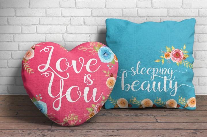 Mishmash shape cushions