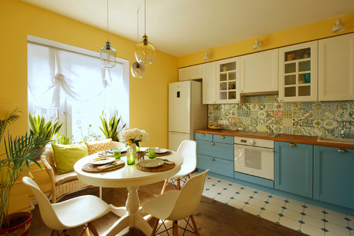 The Yellow Kitchen Design